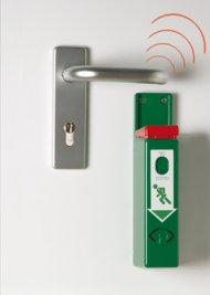 EH-Türwächter mit Funkweiterleitung-